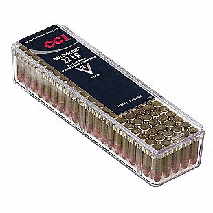Munitions 22Lr - CCI - Cartouches Mini Mag 22Lr Hollow Point 36 GR /100