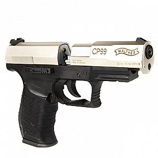 Pistolet UMAREX - Co2 - Walther CP 99 bicolor - Plombs 4,5 mm