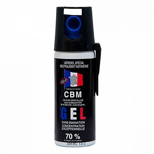 Bombe de défense Gel CS 50ml