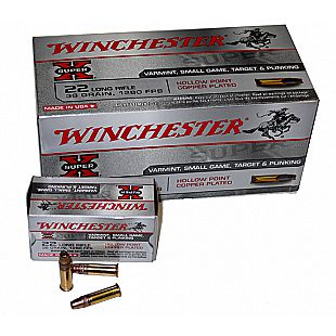 Winchester 22Lr HP Cuivre /5000