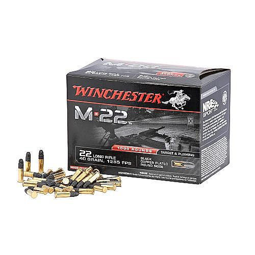 PROMO Munitions 22Lr  -  Winchester - Cartouches 22Lr M22 / 1600